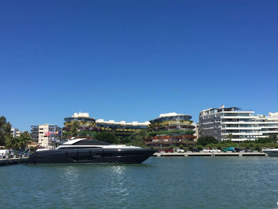 The most luxurious Marina Ibiza front