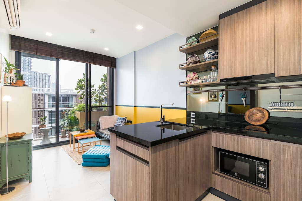 Fully equipped modern design condo