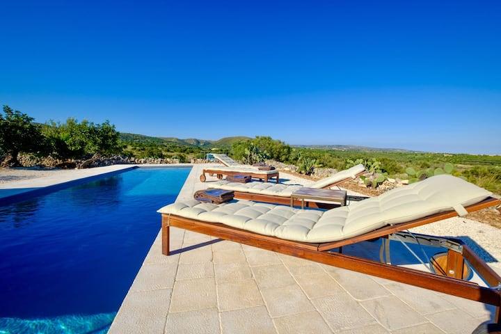 Wunderschöner Pool, Ruhe und Natur