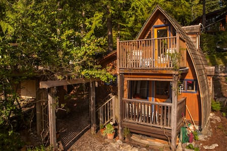 Cozy Cabin with Ocean View #1 - Sechelt