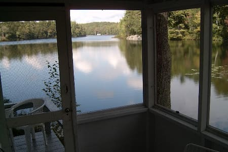 WHITE COTTAGE - KNICKERBOCKER LAKE - Boothbay
