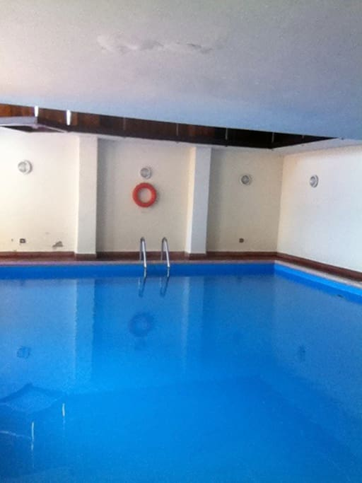la piscina interna