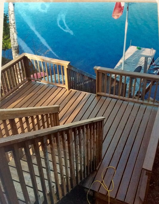 Plenty of Dock space for the guests