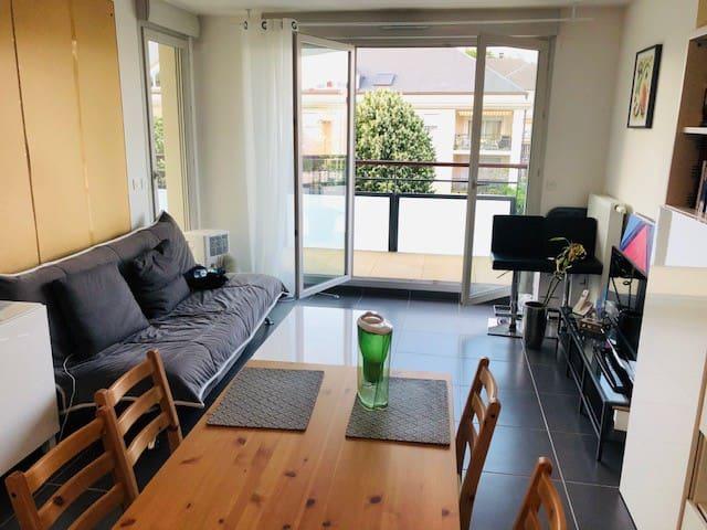Appartement neuf à proximité des bus et de Genève