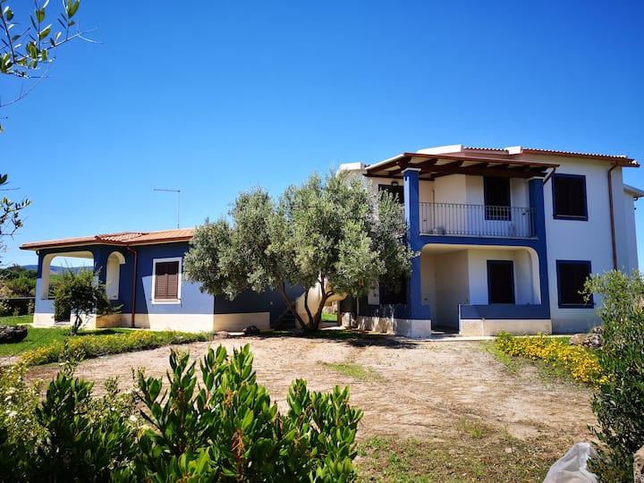 Ampio bilocale con giardino a Valledoria 1