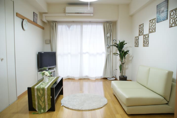 NEW!! Unlimited WIFI+3Beds at Namba Shinsaibashi!! - Chūō-ku, Ōsaka-shi