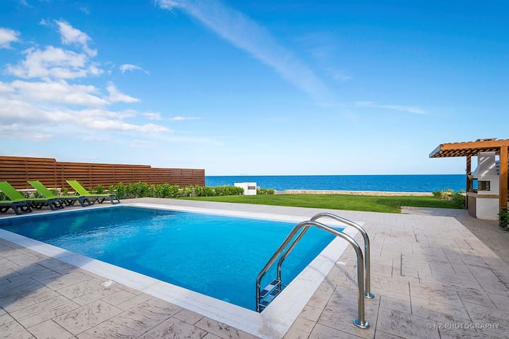 Rhodes Luxury waterfront Villa with private pool! - Rhodes