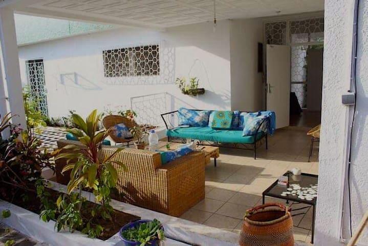 Villa agréable et calme avec jardin