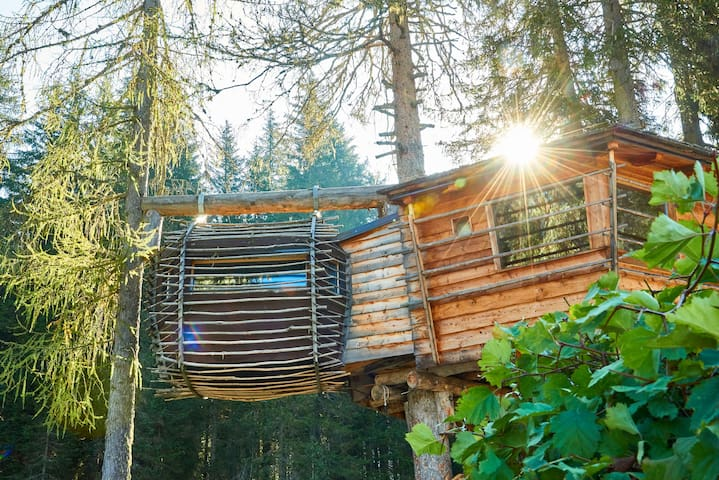 Caravan Park Sexten  Tree house Vintage