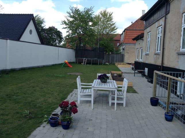 Large home for summer in Copenhagen