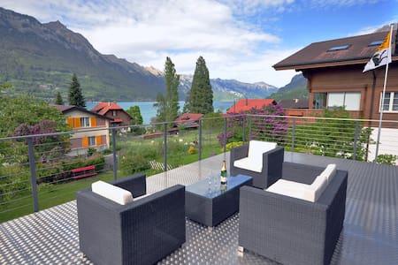 Lake View Chalet.  Spectacular View - Bönigen