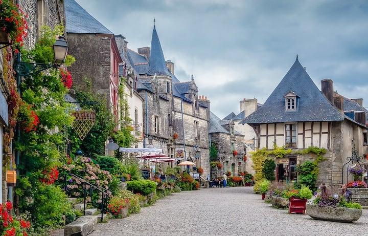 3* Gîte de la Poterie coeur de Rochefort en Terre