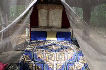 Glamping tent with modern conveniences close by - Apopka - Tent