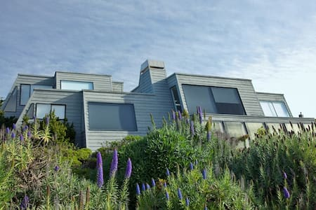 Pyramid House:  Ocean Views, Privacy, 3D Theater - Bodega Bay