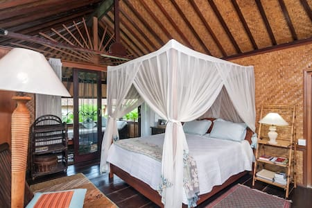 Above the Palm Trees Balcony + Pool - Ubud - Bed & Breakfast