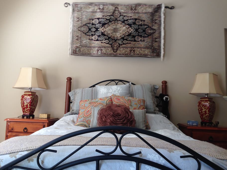 The executive furnished bedroom