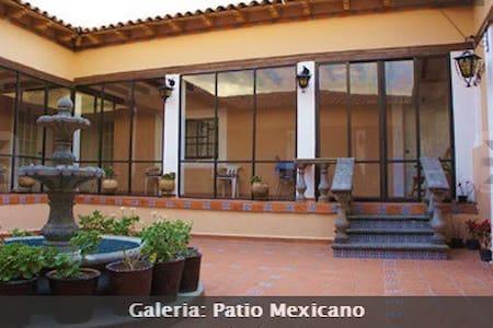 Habitaciones en pueblo encantador - Jocotitlán - 独立屋