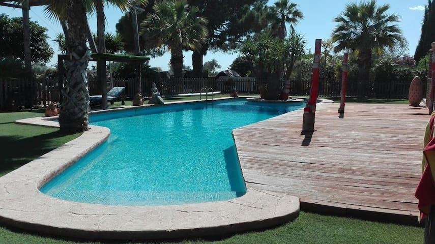 Casa paraíso para tus vacaciones en Elche/Alicante - Elche - 휴가용 별장