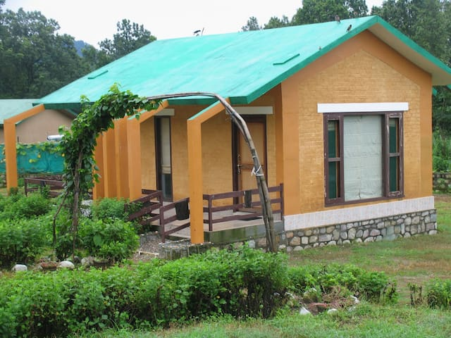 COTTAGES INSIDE JUNGLE  -corbett