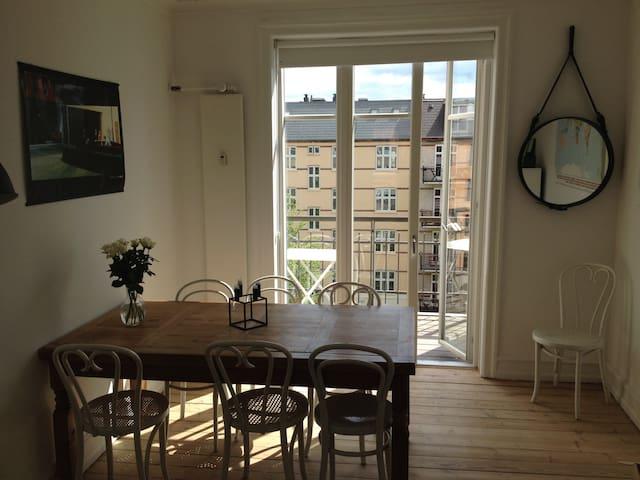 Beautiful Copenhagen apartment - Frederiksberg - Apartamento
