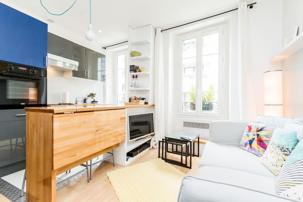 Appartement boulogne centre ville apartments for rent in for Boulogne billancourt piscine