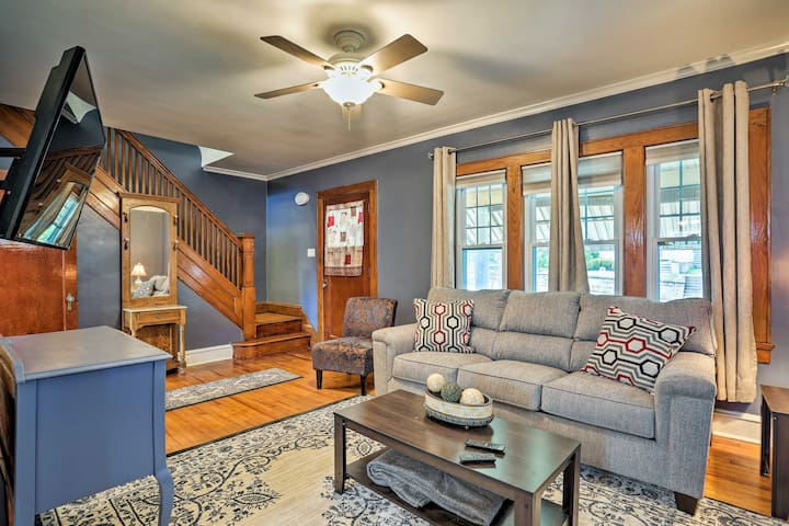 NEW! Lovely Scranton Home w/ Private Yard & Grill!