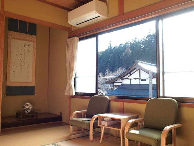Japanese Private6★best view!shared Shower and Bath