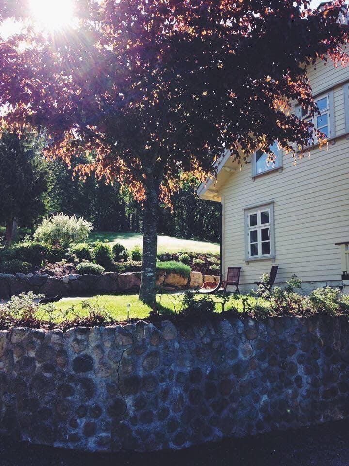 Idyllisk familiegård i Setesdal