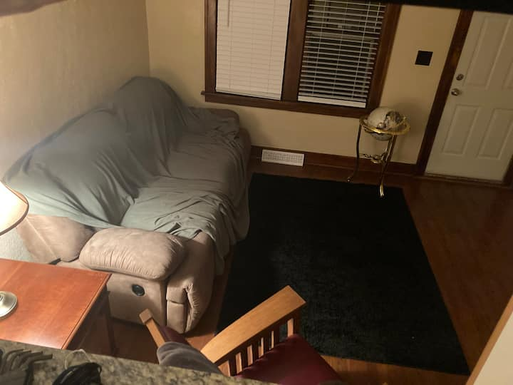Boring Living Room Couch (comfortable)