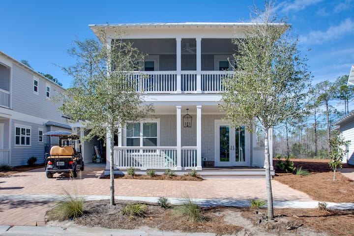 All of 2020 Rates Reduced! 6 seat Golf Cart! Pool* 3 Kings, Beach*! Stay Awhile at Naturewalk on 30A
