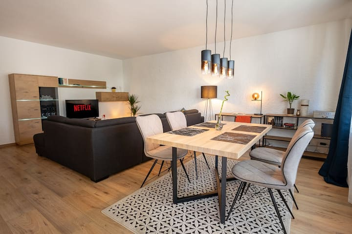 fully equipped 77sqm 2 rooms+Netflix, top location