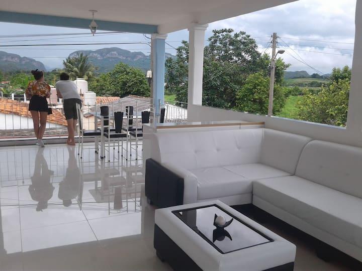 Villa Papo y Mileidys Balcón a las Montañas.