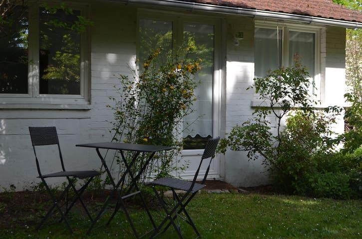 Petite maison avec Jardin 15' Paris