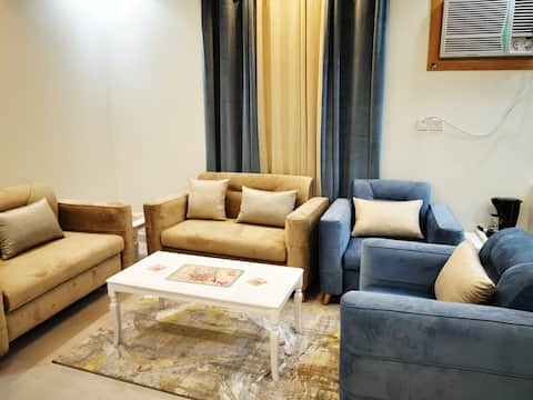 شقة ثلاث غرف وسط مدينة ابها باثاث فندقي 4