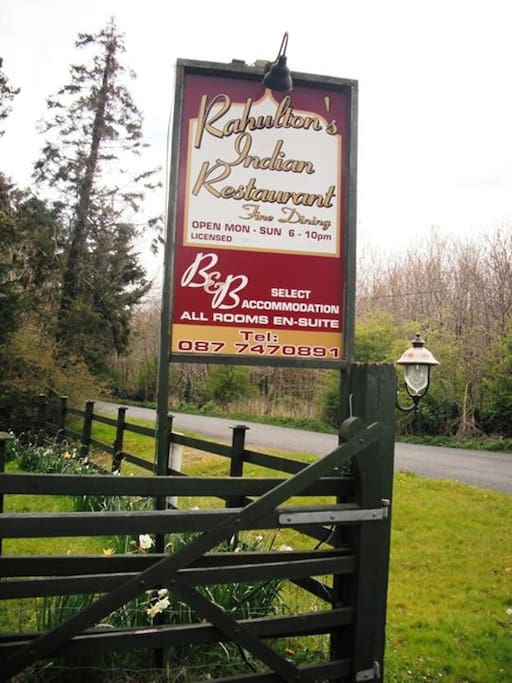 We are situated on the Old Clones to Belturbet Road