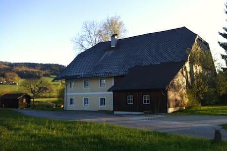 Zimmer im nostalgischen Mühlhaus - Thalgau - Talo