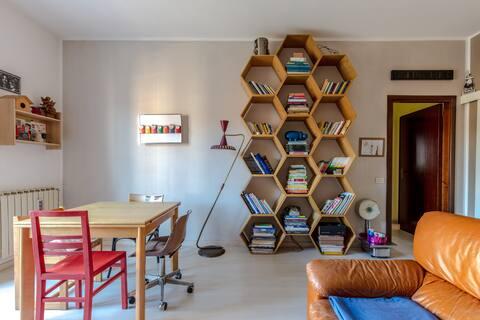 Appartamento Contemporaneo, quasi casa delle Mappe