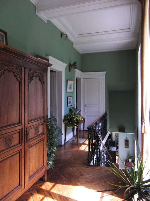 First floor corridor, leading up to the Attic bedrooms