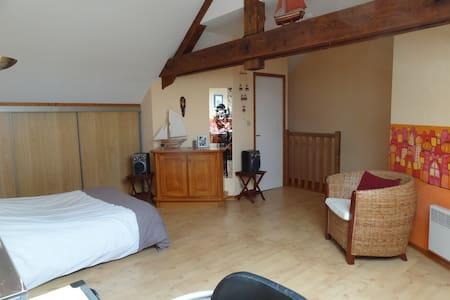 Grande chambre sympa + salle d'eau - Charleville-Mézières