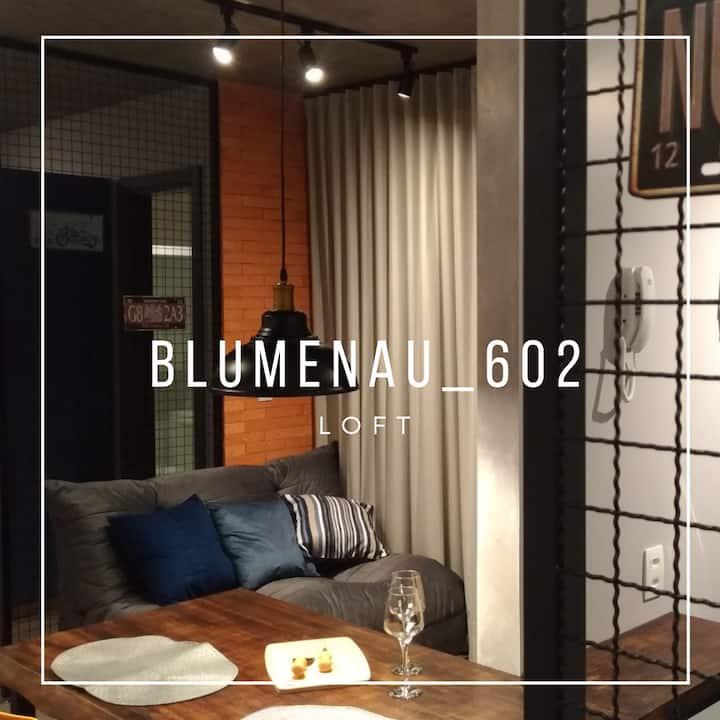 Blumenau 602 - Loft perto da Vila Germânica e FURB