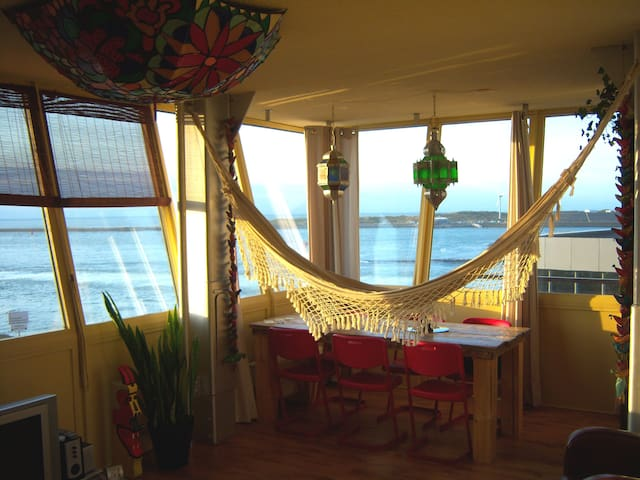 Unique stay near Amsterdam with ocean view