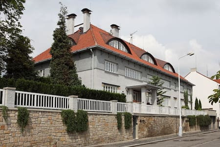 Art deco hotel close to Prague