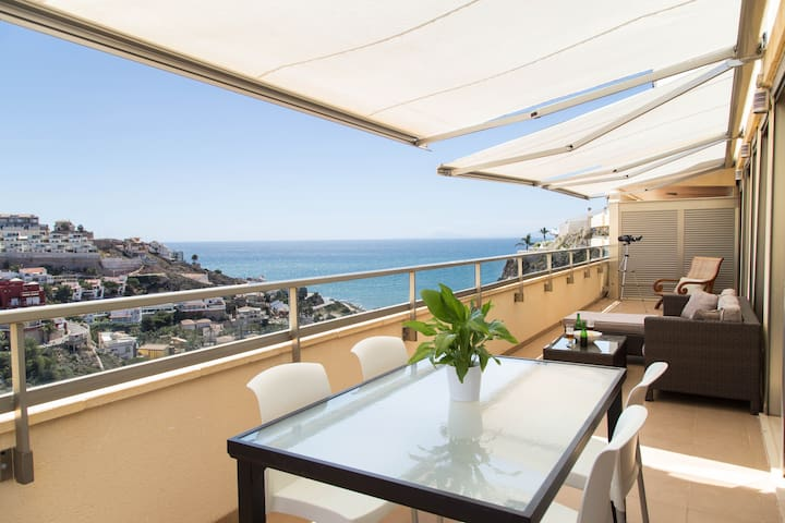 Bright penthouse with sea views  - Cullera
