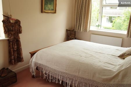 Double room in tranquil home, in beautiful setting - Wells - Talo