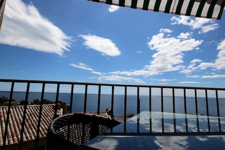 Outstanding & panoramic sea view - Théoule-sur-Mer - Appartement
