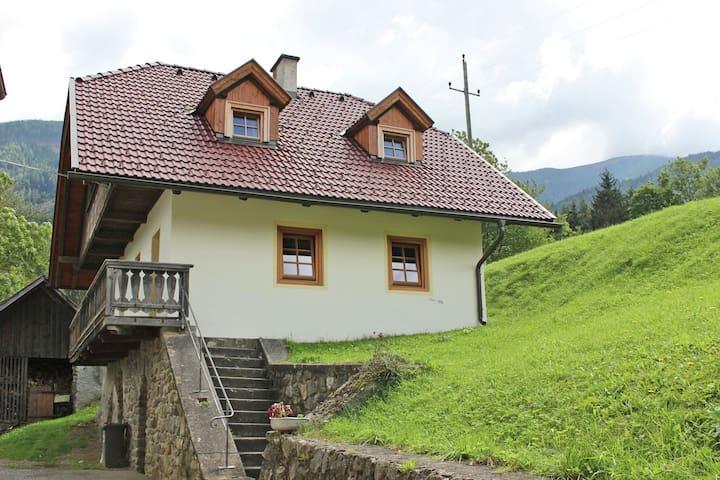 Ruhiges Ferienhaus in Gmünd nahe dem Skigebiet