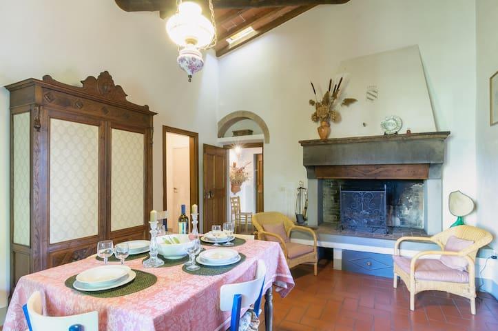 A tipical charming Villa in Toscana - อาเรซโซ่ - บ้าน