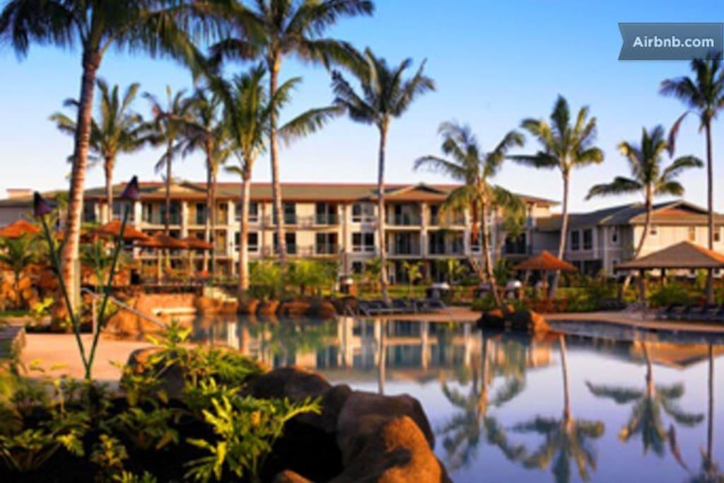 Kauai Princeville Ocean Villas-1BR