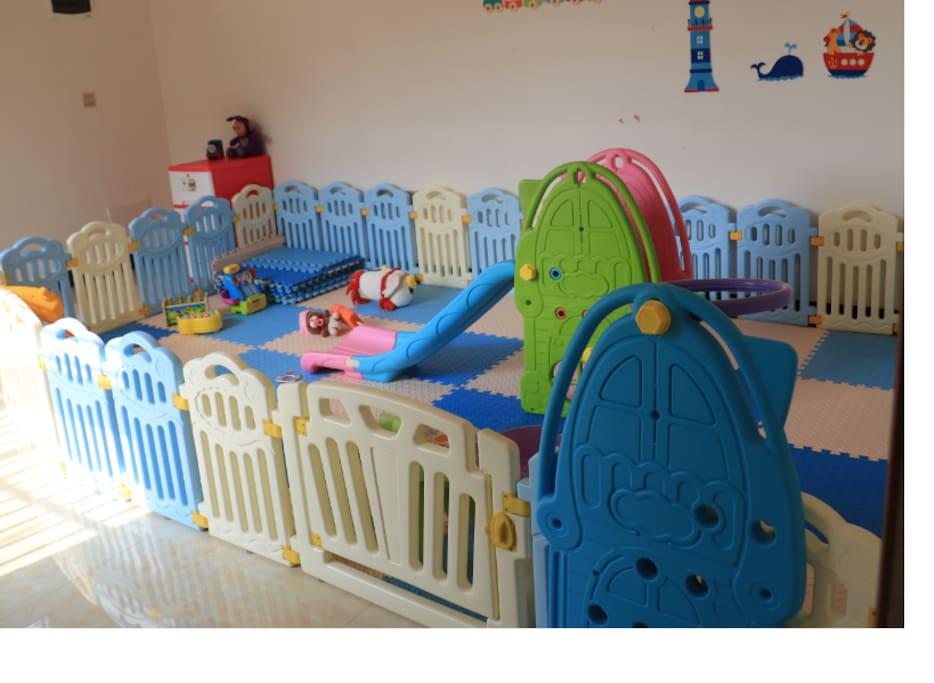 亲子套房儿童专用游乐场