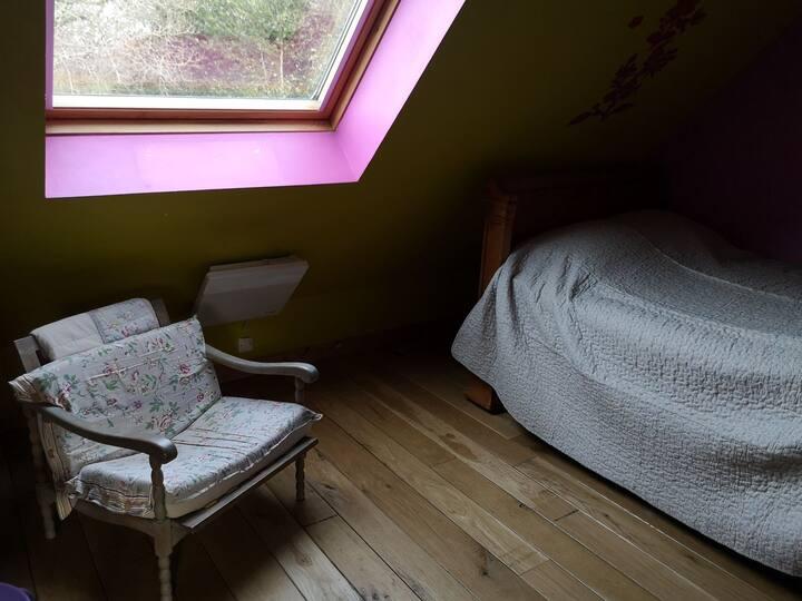 Chambre dans maison de campagne
